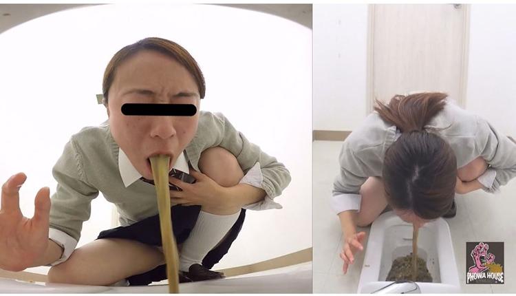女子校生の嘔吐7